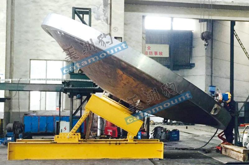 φ6.5m 封头焊接